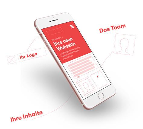 Responsive Webdesign — Optimiert für Smartphones und Tablets